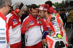 Andrea Iannone, Ducati Team, Gigi Dall'Igna, Ducati Team General Manager