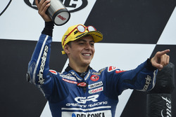 Podium: third place Fabio Di Giannantonio, Gresini Racing Moto3