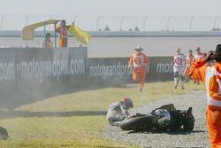 Nobuatsu Aoki, crash