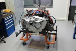 Motore di un aereo