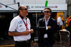 Bruno Michel bersama Alejandro Agag - CEO, Formula E