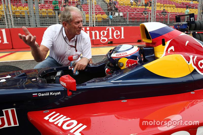 Dr. Helmut Marco, Red Bull Racing con Carlos Sainz Jr.