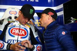 Alex Lowes, Pata Yamaha Official WorldSBK Team, and his brother Sam Lowes