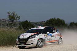Beatrice Calvi e Cristina Caldart, Peugeot 208 R, Scuderia Palladio