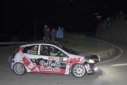 Corinne Federighi e Jasmine Manfredi, Renault Clio R3c, BF Rally