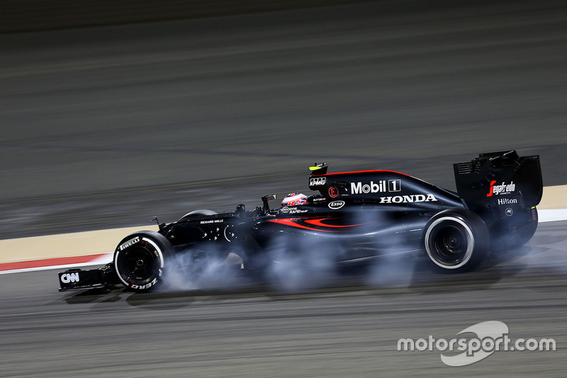 Jenson Button, McLaren MP4-31