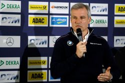 Press conference: Jens Maquardt, BMW Motorsport Director