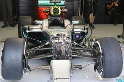 Mercedes AMG F1 Team W07, dettaglio