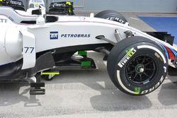 Williams FW38, detalle