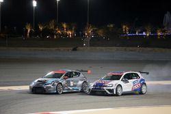 Davit Kajaia, Volkswagen Golf GTI TCR Liqui Moly Team Engstler and Mato Homola, Seat Leon B3 Racing
