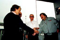 Luca Di Montezemolo, Ferrari, Norbert Haugg, Mercedes'i tebrik ediyor