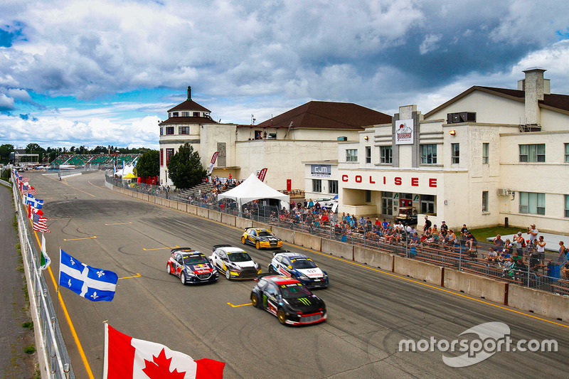 6. Rallycross action