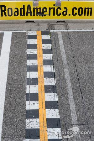 Road America. linea di partenza/arrivo