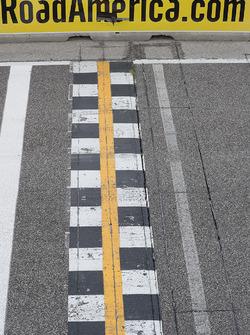 Road America línea de meta