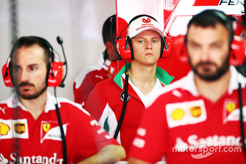 Mick faz parte da academia de jovens pilotos da Ferrari