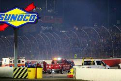 Crash of Kurt Busch, Stewart-Haas Racing Chevrolet