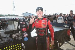 Race winner John Hunter Nemechek, NEMCO Motorsports Chevrolet