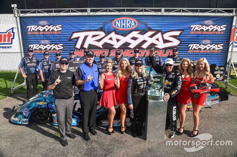 Traxxas Nitro Shootout winner Courtney Force