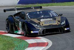 #64 Ebimotors Lamborghini Huracan GT3: Emanuele Busnelli, Fabio Babini