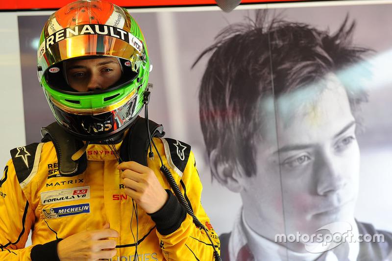 #16: Louis Deletraz - 2. Platz Formel V8 3.5 (Fortec)
