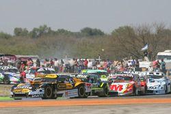 Leonel Pernia, Las Toscas Racing Chevrolet, Mauro Giallombardo, Alifraco Sport Ford, Mariano Werner,