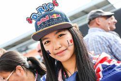 A Daniel Ricciardo, Red Bull Racing fan
