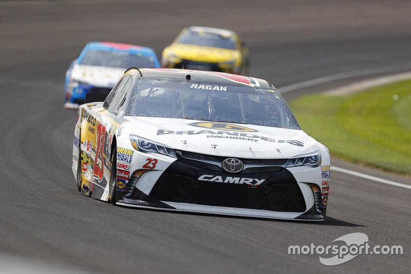 37. David Ragan, BK Racing, Toyota (Crash)