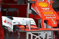 Ferrari SF16-H detalle de ala delantera