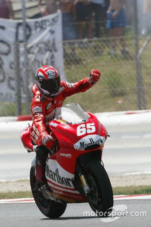 Race winner Loris Capirossi, Ducati