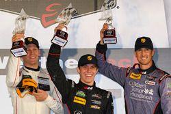 GT Daytona Podium: segundo, #73 Park Place Motorsports Porsche GT3 R: Patrick Lindsey, Jörg Bergmeis