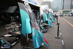 Team garage NEXTEV TCR Formula E Team