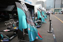 NEXTEV TCR Formula E Team garajı