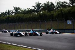 Steijn Schothorst, Campos Racing, Arjun Maini, Jenzer Motorsport and Nyck De Vries, ART Grand Prix