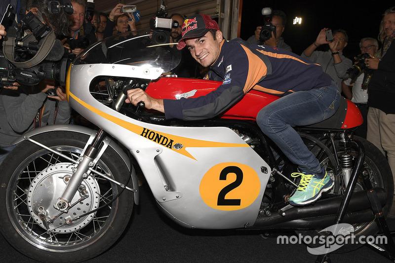 داني بيدروسا، ريبسول هوندا ودراجة هوندا آر.سي181