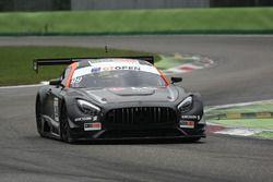 #99 Sports and You Mercedes-AMG GT3: Manuel Da Costa, Miguel Sardinha