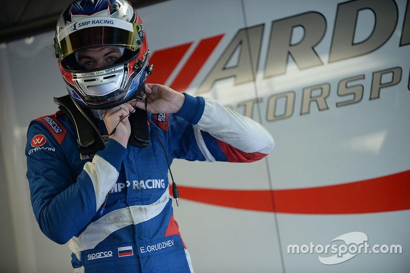 Российские гонщики: Егор Оруджев