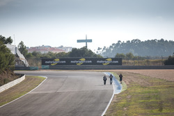 Track atmosphere during track walk
