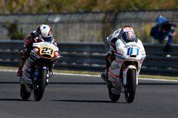 Jorge Martin, Aspar Team Mahindra Moto3, Niccolo Antonelli, Ongetta-Rivacold