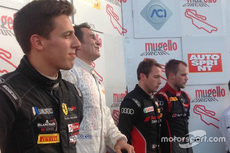 Alex Zanardi, BMW Team Italia, vincitore della gara