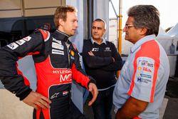 Kevin Abbring, Sebastian Marshall, Hyundai i20 WRC, Hyundai Motorsport with Michel Nandan, Team prin
