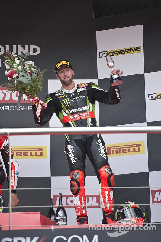 Podium : le troisième, Tom Sykes, Kawasaki Racing