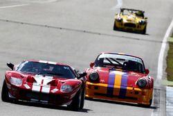 Historische GT, Ford GT und Porsche 911