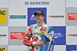 Podium: Ben Barnicoat, HitechGP Dallara F312 – Mercedes-Benz