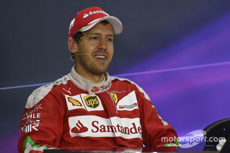 Pressekonferenz: Sebastian Vettel, Ferrari