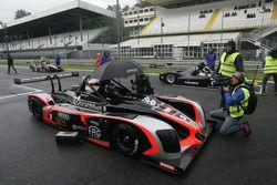 Walter Margelli, Norma-M20F-CN2 #5, Nannini Racing sulla griglia di partenza di Gara 1