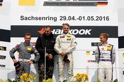 Podium: 2. Benjamin Leuchter, Racing One, VW Golf GTI TCR ; 1. Antti Buri, LMS Racing, SEAT Leon TCR; 3. Tim Zimmermann, Liqui Moly Team Engstler, VW Golf GTI TCR