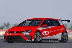 VW Golf TCR, Teamwork Motorsport