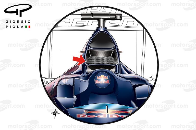 Toro Rosso STR9, la presa d'aria