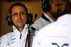 Dave Robson, Williams Race Engineer