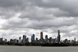 Le paysage à Melbourne
